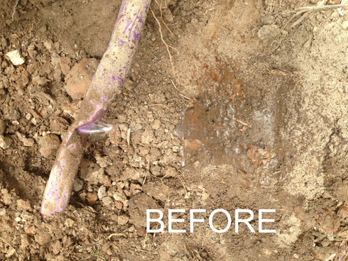 Field Repairs Before.