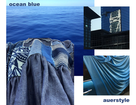 Moodboard for Ocean Blue