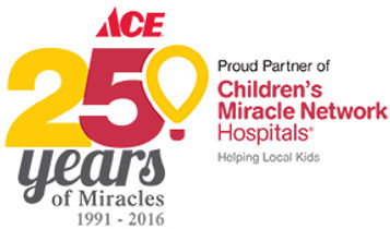 Children's Miacle Network Partnership with Ace