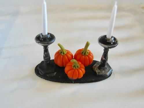 Pumpkin Candle Centerpiece
