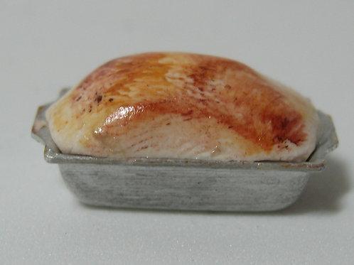 Loaf of Bread in Pan