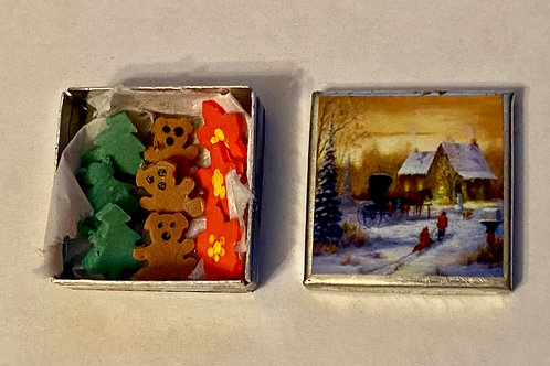 Horse Carriage Cookie Tin