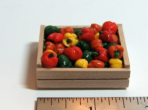 Mixed Pepper Crate