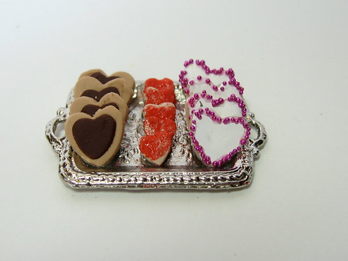 Fancy Valentine's Day Cookies