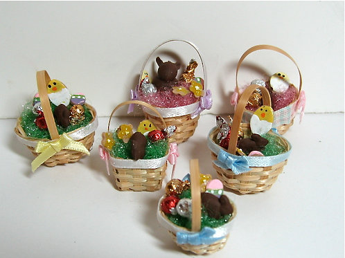 Easter Basket with Treats