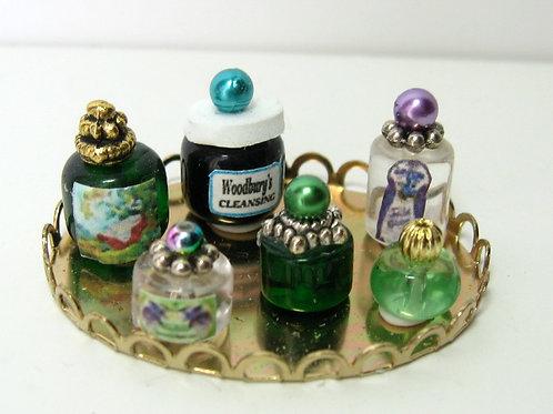 Beauty Bottles on Tray2