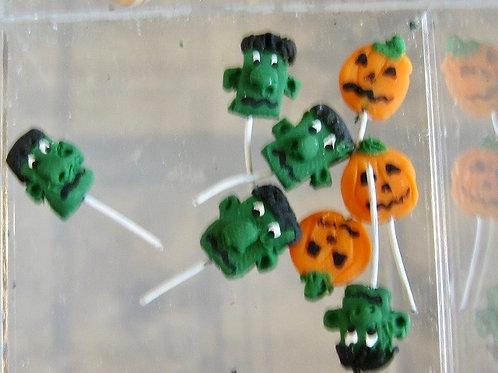 Fancy Halloween Lollipops