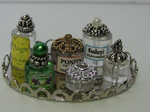 Beauty Bottles on Tray5