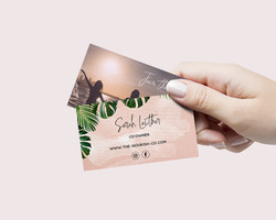 The Nourish Co Business Card