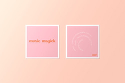 Moxie Magick Square Business Card