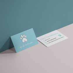 PAWS Club Melbourne Business Card