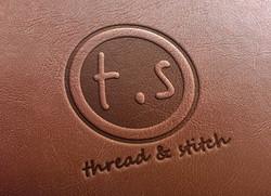 Thread & Stitch Leather Wallets Logo