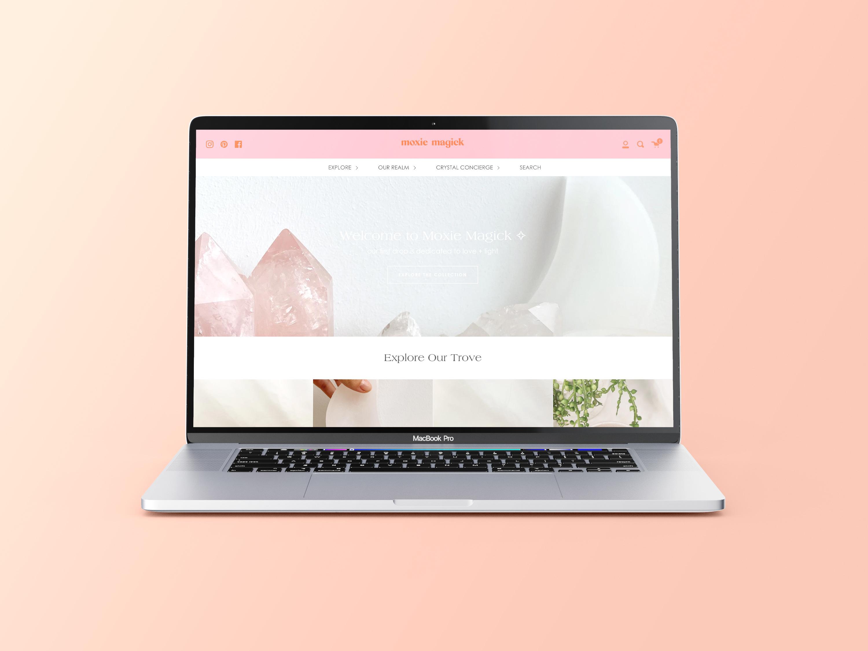 Moxie Magick Shopify Store