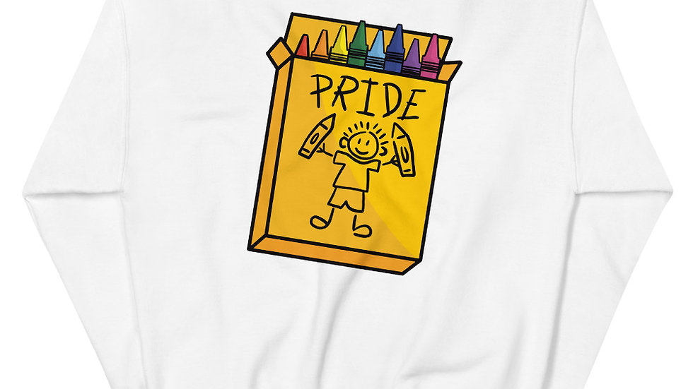 Crayon Pride Sweatshirt