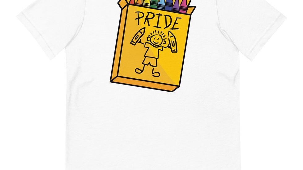 Crayon Pride Tee