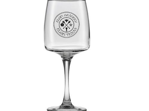 Elgin Meadery Wine Glass