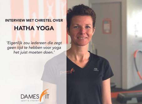 Hatha Yoga bij DamesFit
