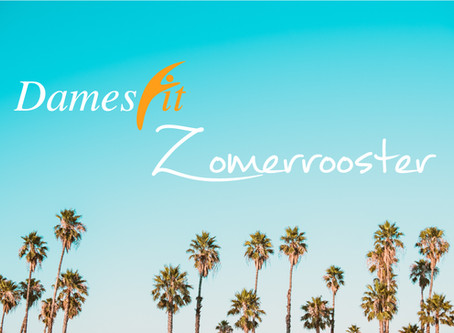 Zomerrooster!