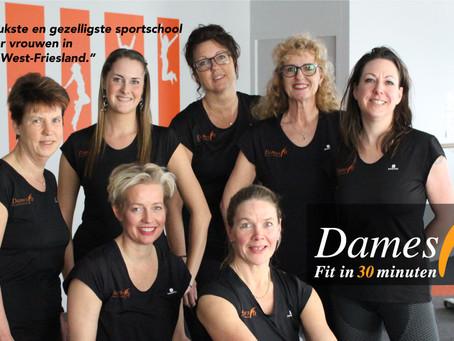 Kom gratis sporten bij DamesFit
