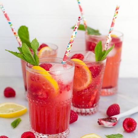 Raspberry Lemonade Spritzer