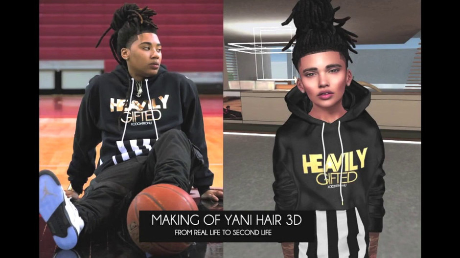 Making of Yani Hair 3D
