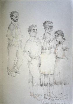 Ill and his family