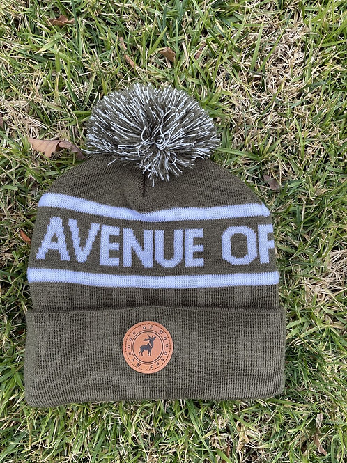 Army knitted Beanie