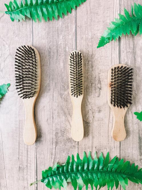 Cepillo cabello en madera