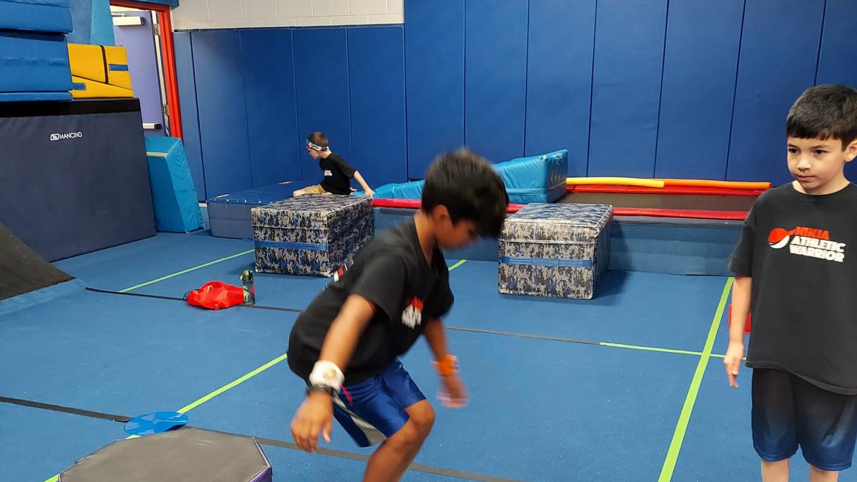 Ninja Warrior Balance