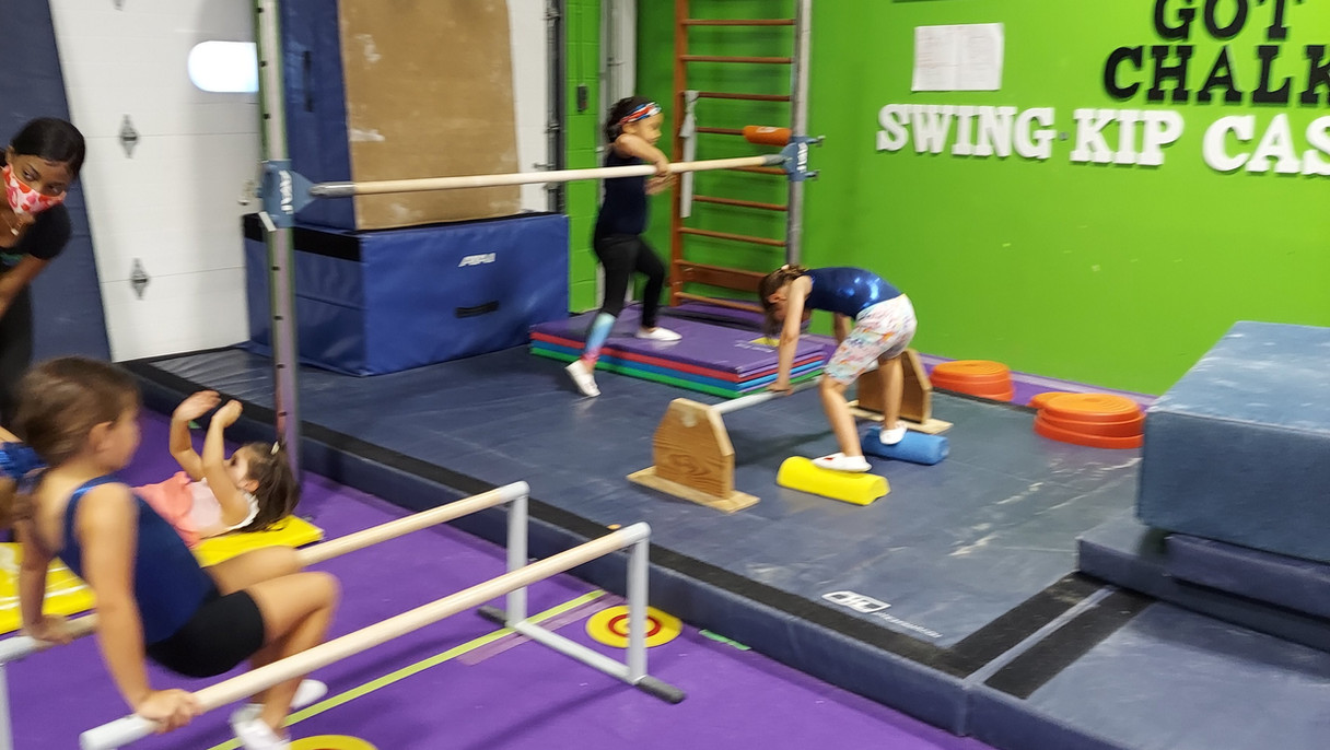 Mini Gym Bars Stations