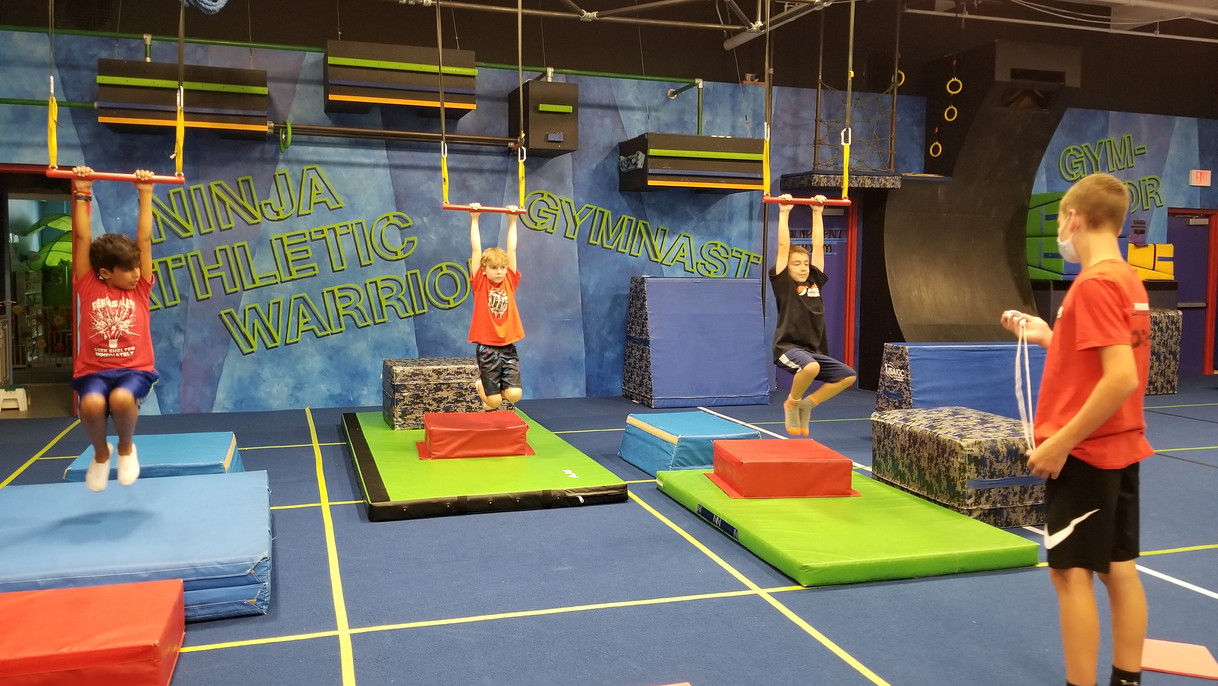 Ninja Warrior Trapeze Holds