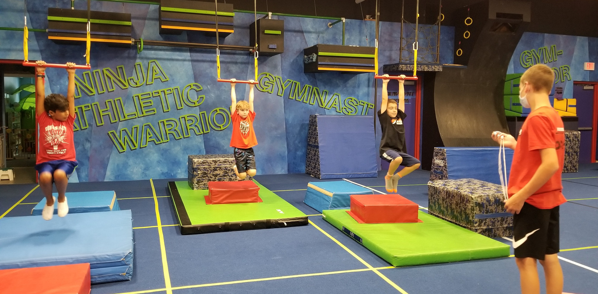 Ninja Warrior Trapeze Holds