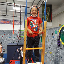 Ninja Warrior Ladder Climb