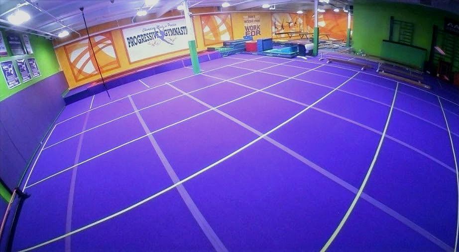Training Gym Floor Plan