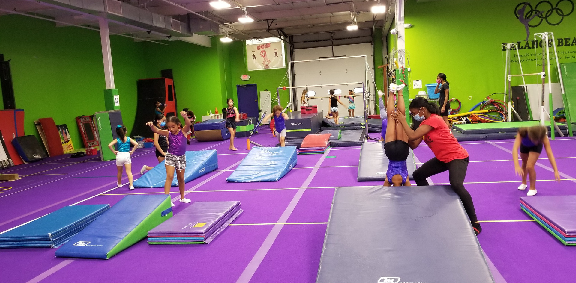 Gymnastics Floor Stations
