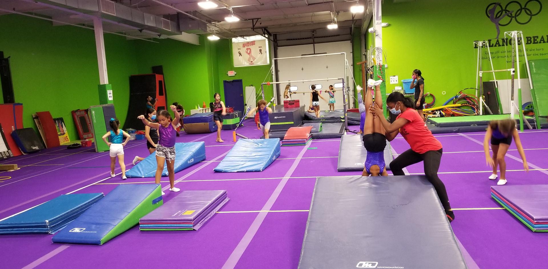 Gymnastics Floor Stations
