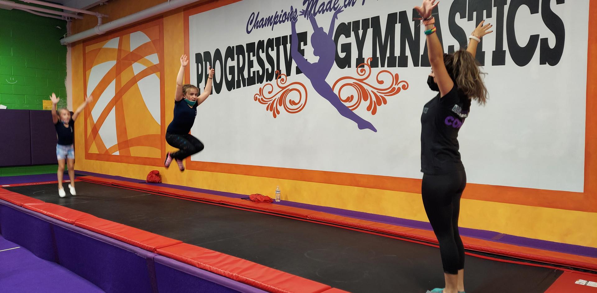 Gymnastics Tumble Track Fun