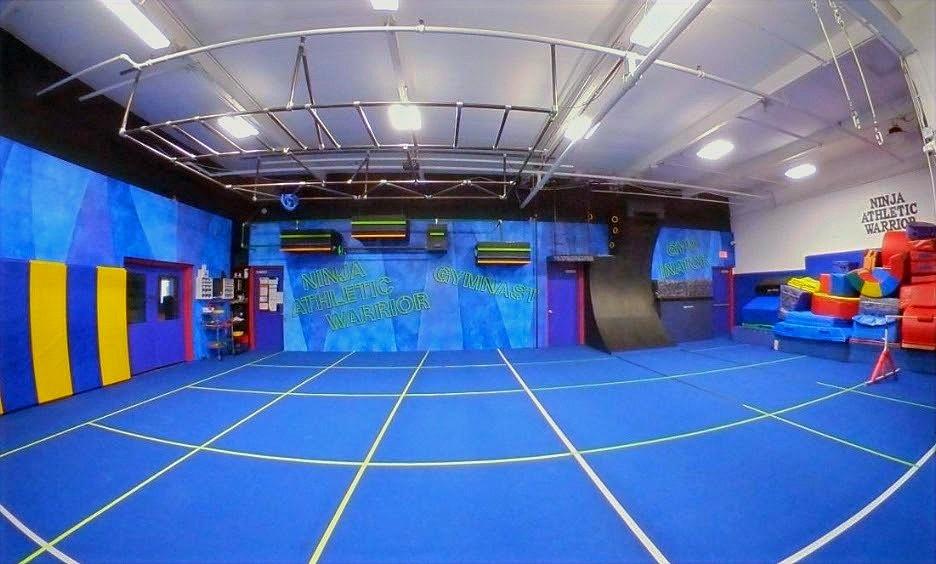 Ninja Warrior Gym Layout