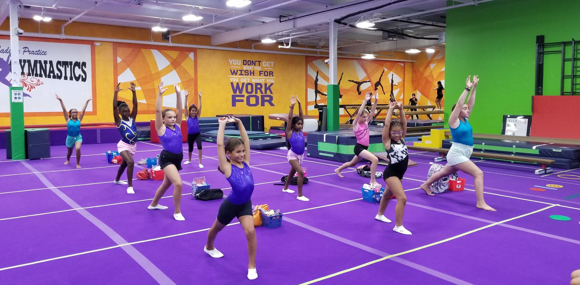 Advanced Gymnastics Warm Up