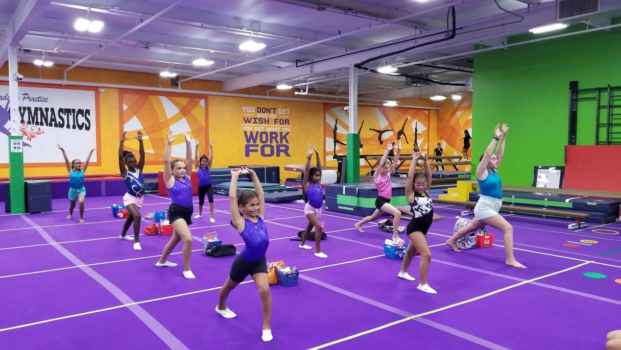 Advanced Gymnastics Warm Up