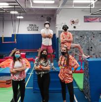 Ninja Coaches as Tropical Travelers