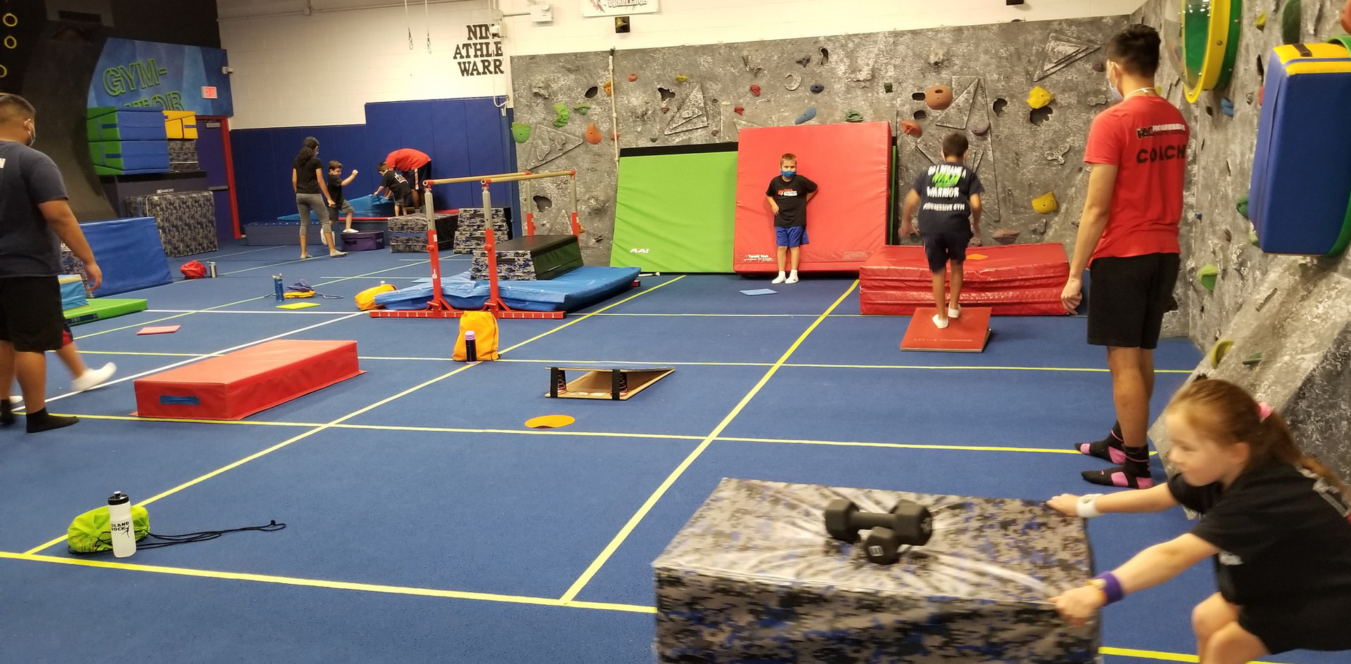 Ninja Warrior Fitness Stations