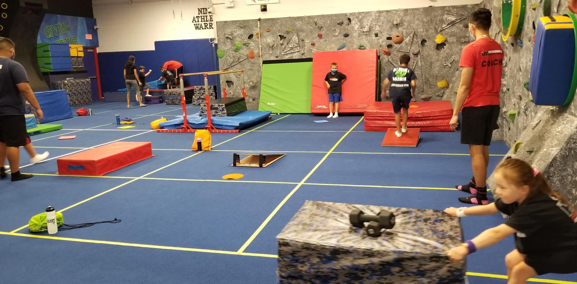 Ninja Warrior Fitness Stations