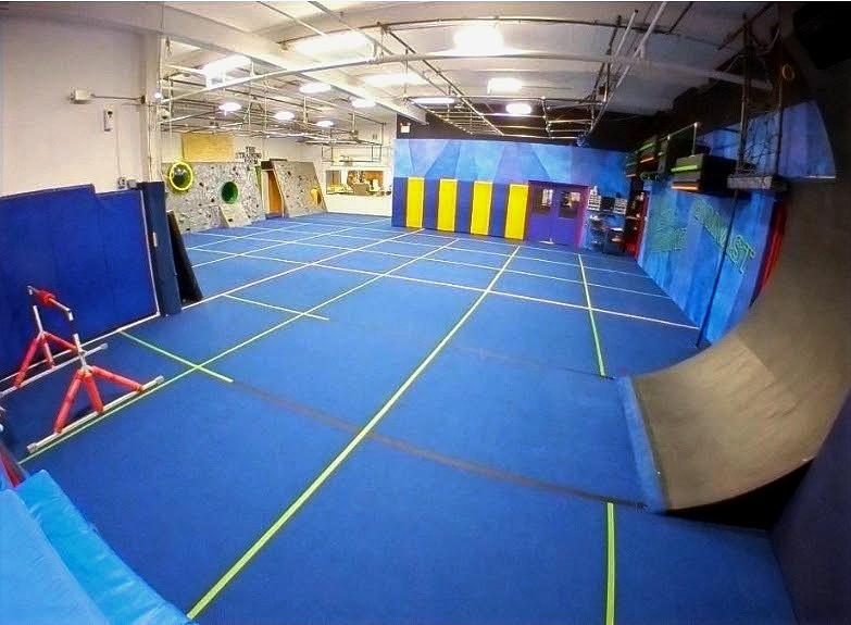 Ninja Warrior Facility Layout