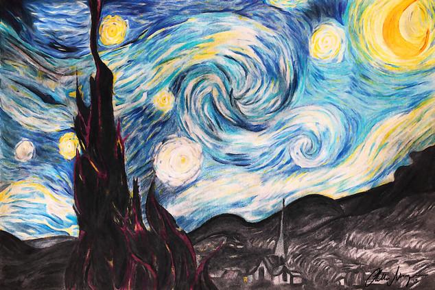 """Starry Night - Reimagined"" 2013"