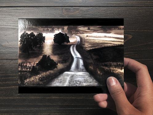 """""""Misty Meadows"""" Art Card"""