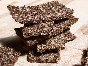 Simplest Flaxseed Dog Crackers