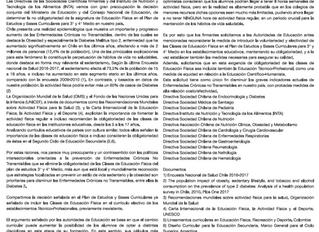 Comunicado conjunto de las Sociedades Medicas Cientificas de Chile e INTA acerca de la eliminacion d