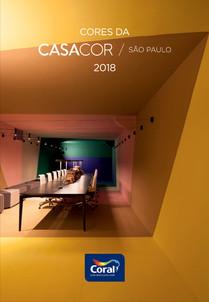 guia de Cores CasaCor SP 2018