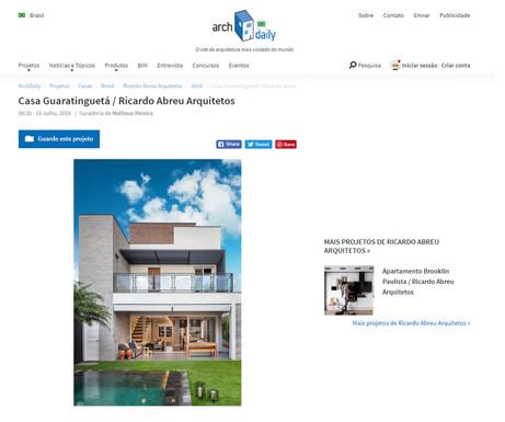 Casa Guaratinguetá Archdaily